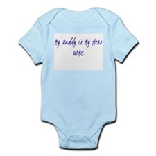 My Daddy is my hero USMC Infant Bodysuit