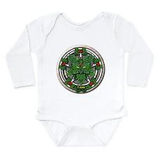 Rowan Celtic Greenman Pentacle Onesie Romper Suit