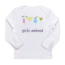 Girls Weekend Long Sleeve Infant T-Shirt