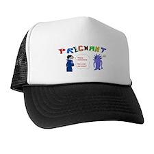 Valentines Pregnant Sex Trucker Hat