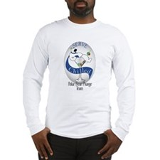 polar bear plungeBACKoutlines.jpg Long Sleeve T-Sh