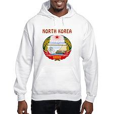 North Korea Coat of arms Hoodie