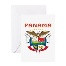 Panama Coat of arms Greeting Card