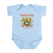 Puerto Rico Coat of arms Infant Bodysuit