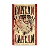 cancan_12x18.jpg Wall Decal