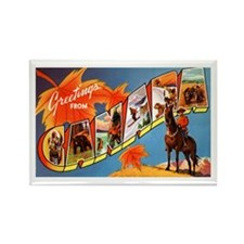 Canada Canadian Greetings Rectangle Magnet