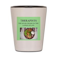 therapist Shot Glass