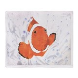 Clown Fish.jpg Throw Blanket