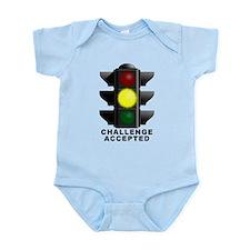 Challenge Accepted Funny T-Shirt Infant Bodysuit