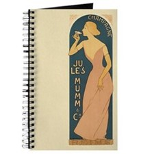 Vintage Champagne Art Journal