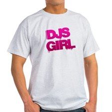 DJs Girl Pink T-Shirt