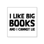 I Big Books Square Sticker 3