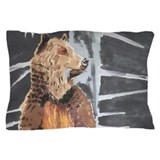 Grizzly Bear Pillow Case