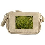 romantic ruffly lettuce Messenger Bag