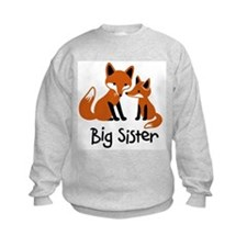 Big Sister - Mod Fox Sweatshirt