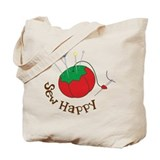 Sew Happy Tote Bag