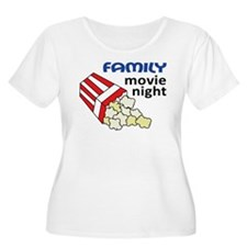 Family Movie Night T-Shirt