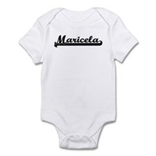 Black jersey: Maricela Infant Bodysuit