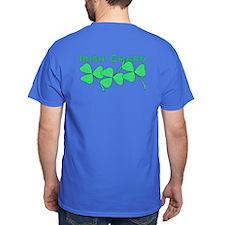 Irish Charm Dotted Shamrock T-Shirt