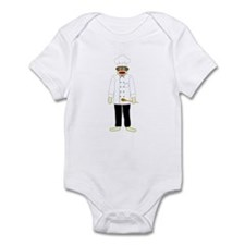 Sock Monkey Chef Infant Bodysuit