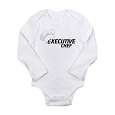 Executive Chef Long Sleeve Infant Bodysuit