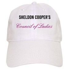 Sheldon Coopers Council of Ladies Bang Theory Baseball Cap