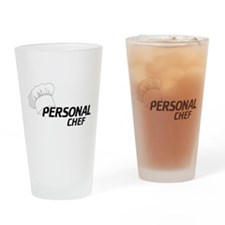 Personal Chef Drinking Glass
