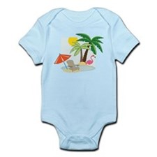Summer Beach Infant Bodysuit