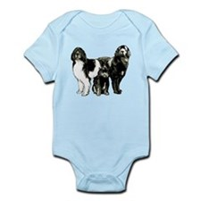 Newfoundland dog family Onesie
