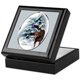 Curly Coated Retriever Keepsake Box