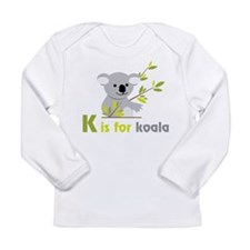 K Is For Koala Long Sleeve Infant T-Shirt