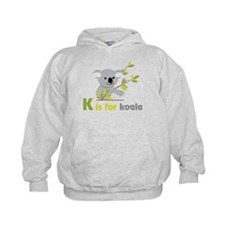K Is For Koala Hoodie