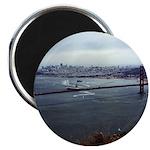 USS Nimitz - Golden Gate Bridge Magnet