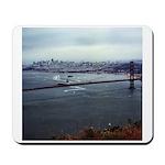 USS Nimitz - Golden Gate Bridge Mousepad