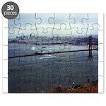 USS Nimitz - Golden Gate Bridge Puzzle