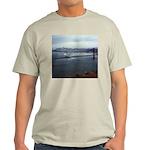 USS Nimitz - Golden Gate Bridge Light T-Shirt