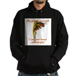 Sun Conure my parrot can fly Steve Duncan Hoodie (