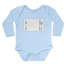 Utensils Long Sleeve Infant Bodysuit