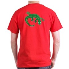 Green Lizard B Twist T-Shirt