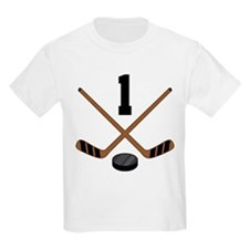 Hockey Player Number 1 T-Shirt