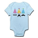 Party Mustache Infant Bodysuit