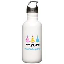 Mustache Party Water Bottle