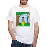 John the Baptist Diet White T-Shirt