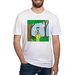 John the Baptist Diet Fitted T-Shirt