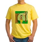 John the Baptist Diet Yellow T-Shirt