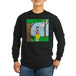 John the Baptist Diet Long Sleeve Dark T-Shirt