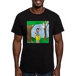John the Baptist Diet Men's Fitted T-Shirt (dark)