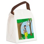 John the Baptist Diet Canvas Lunch Bag