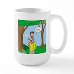 John the Baptist Diet Large Mug