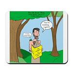 John the Baptist Diet Mousepad